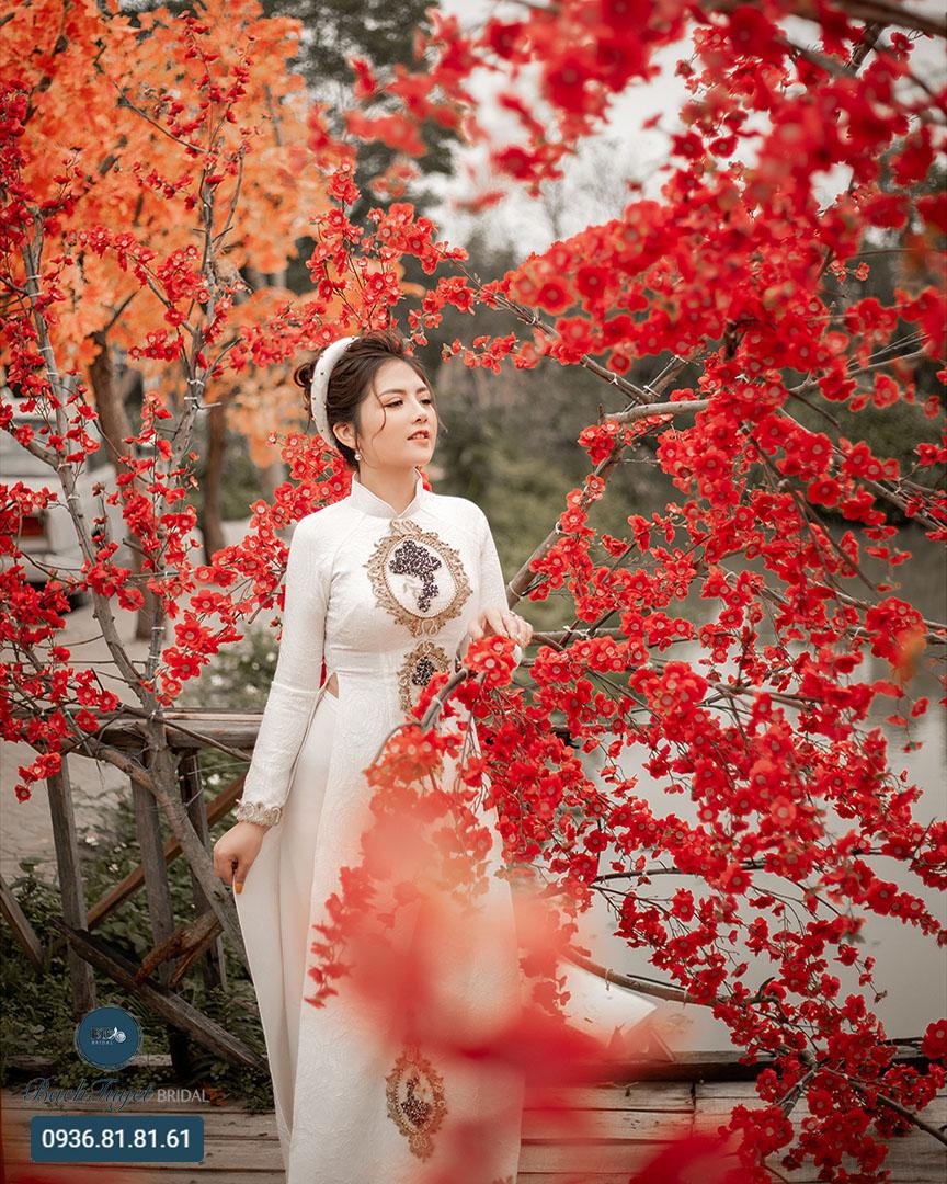 Địa chỉ thuê áo dài cưới đẹp tại Hải Phòng