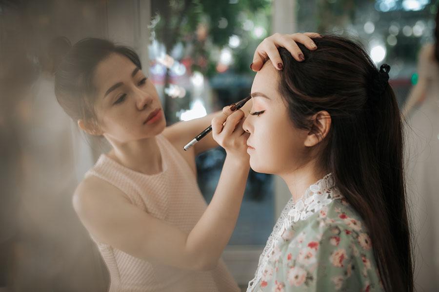 Đào tạo make up chuyên nghiệp