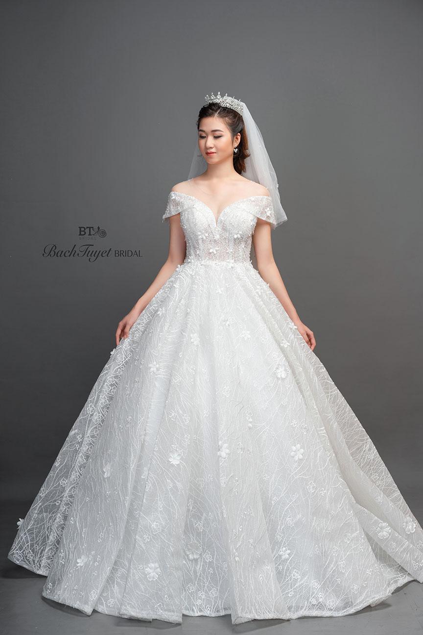 Mẫu váy cưới Luxury cao cấp