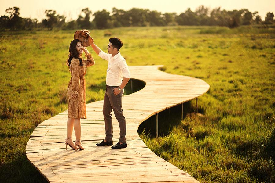 Một số kiểu chụp ảnh cưới đẹp