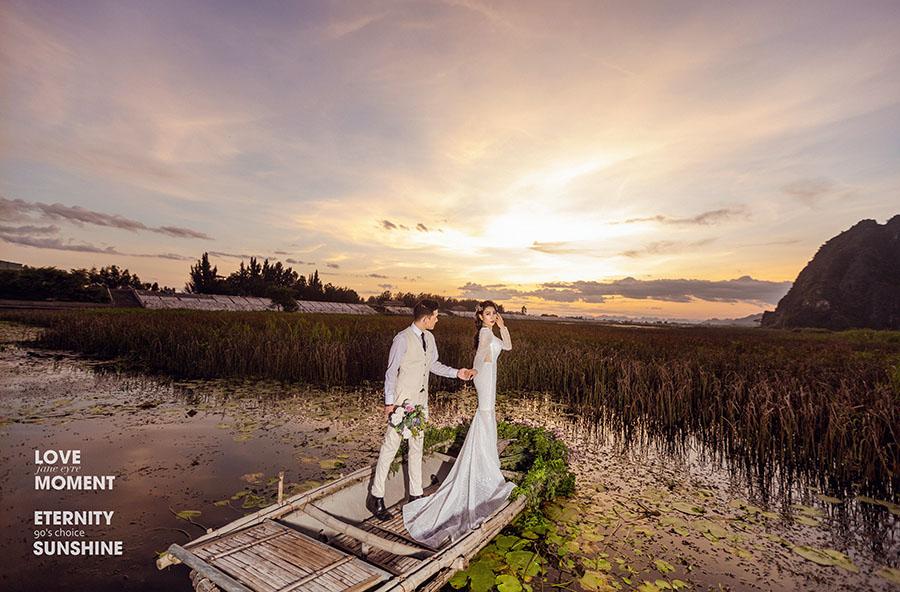 Địa điểm chụp ảnh cưới đẹp ở miền Bắc - Trang an -Ninh Bình