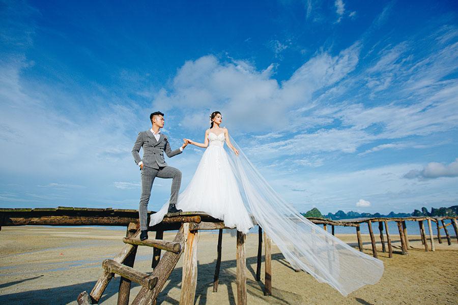 Những địa điểm chụp ảnh cưới đẹp tại miền Bắc