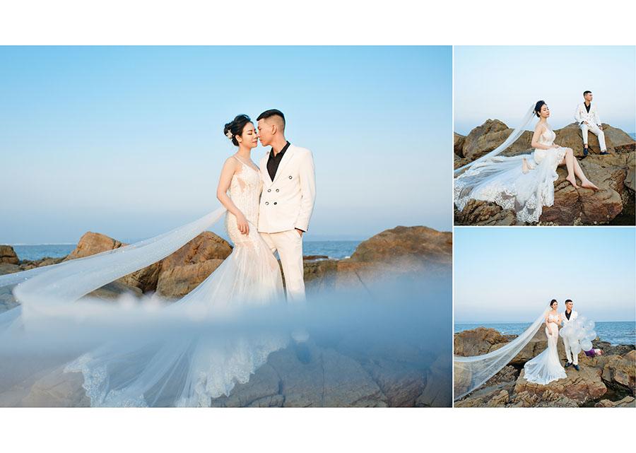 Chụp ảnh cưới đẹp tại Đồ Sơn