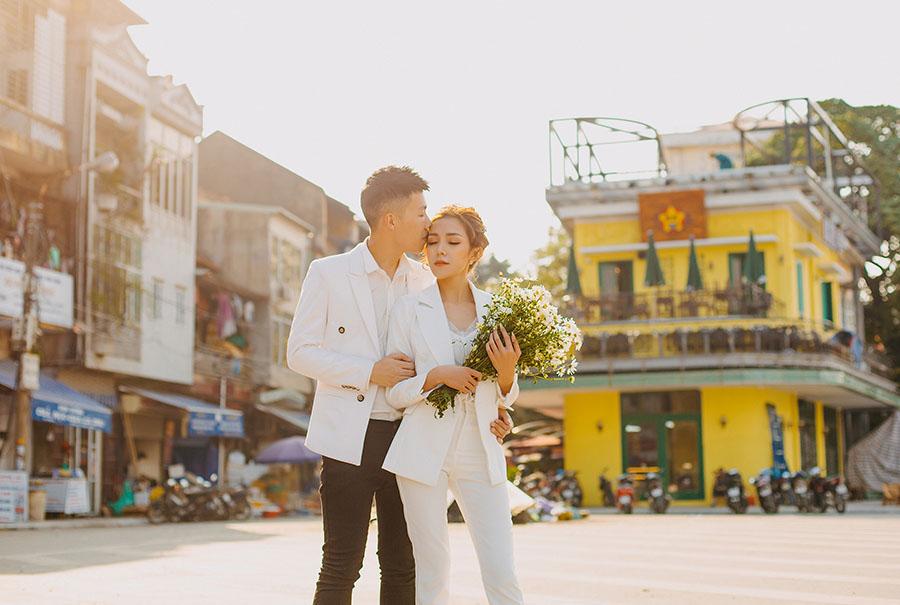 Chụp ảnh cưới đẹp tại nội thành Hải Phòng
