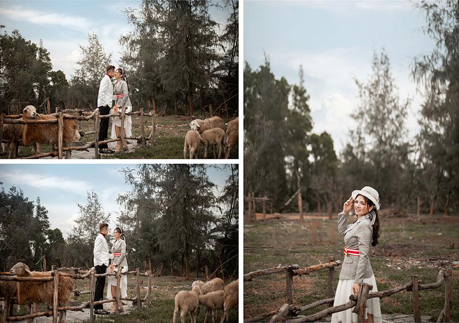 Phong cách chụp ảnh cưới kiểu Vintage