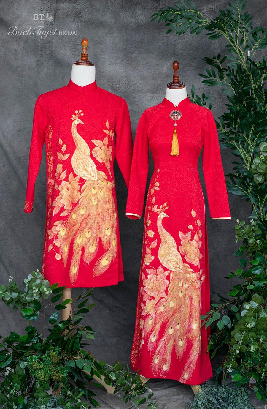 Cho thuê áo dài cặp