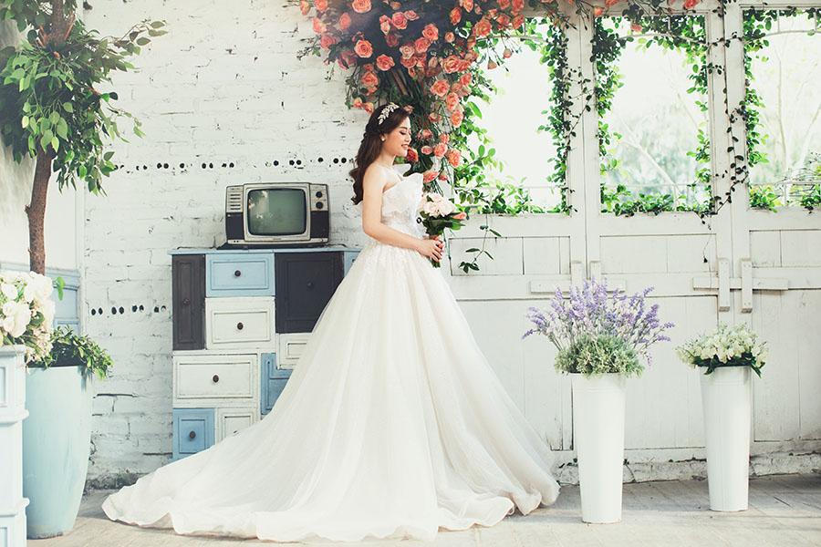 Xu hướng chụp ảnh cưới phong cách Hàn Quốc