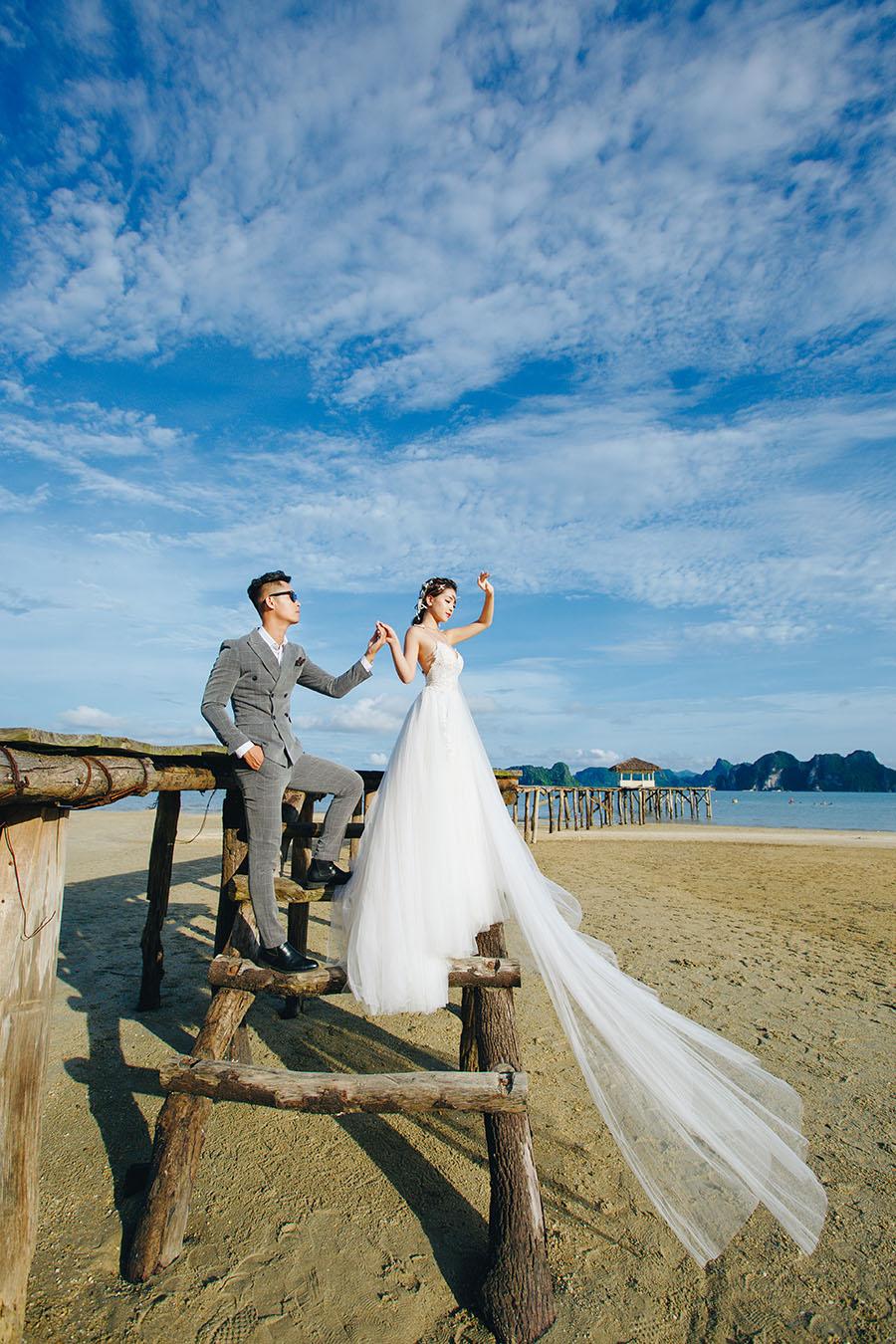 Xu hướng chụp ảnh cưới ở biển