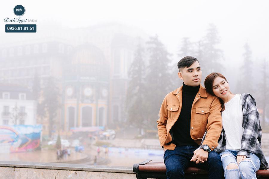 Chụp ảnh cưới SaPa kết hợp du lịch