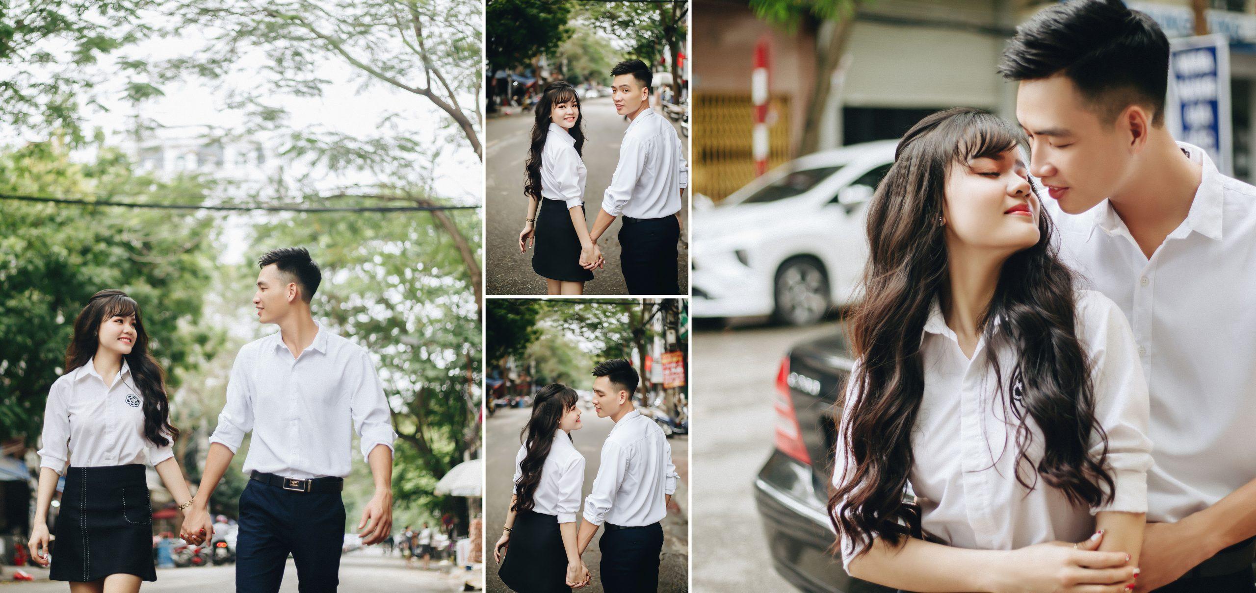 Chụp ảnh cưới đường phố: Xu hướng chụp ảnh cưới hợp thời, cá tính