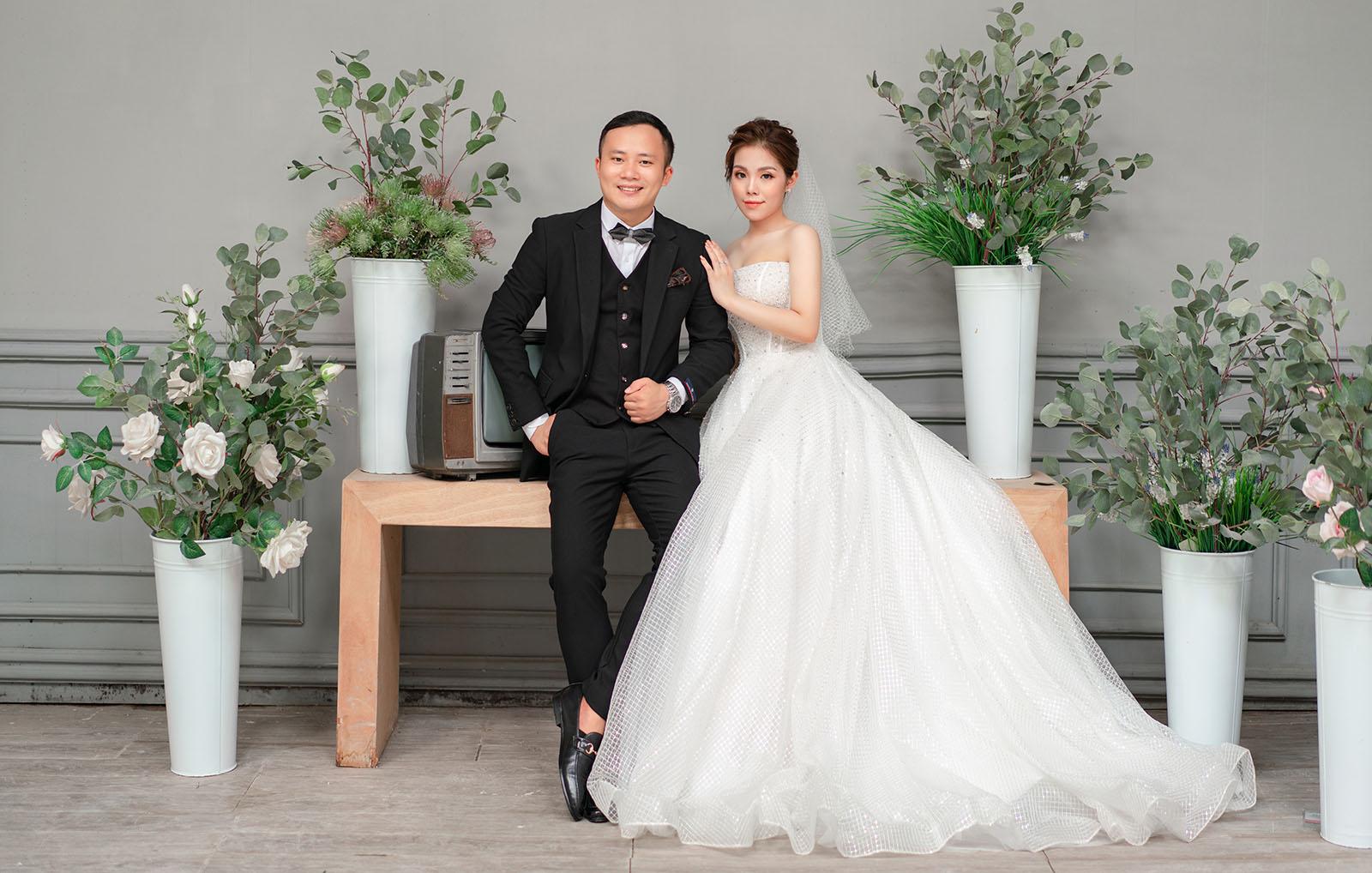 Vẽ lên câu chuyện tình yêu lãng mạn với ý tưởng chụp ảnh cưới kiểu Hàn