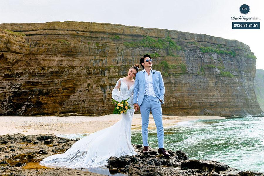 Chụp ảnh cưới ở Lý Sơn