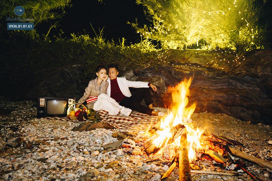 Concept chụp ảnh cưới picnic tại Cô Tô