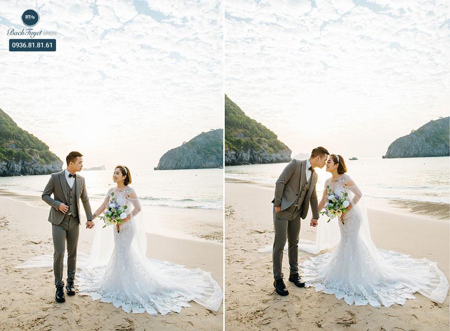 Phụ kiện chụp ảnh cưới ở biển