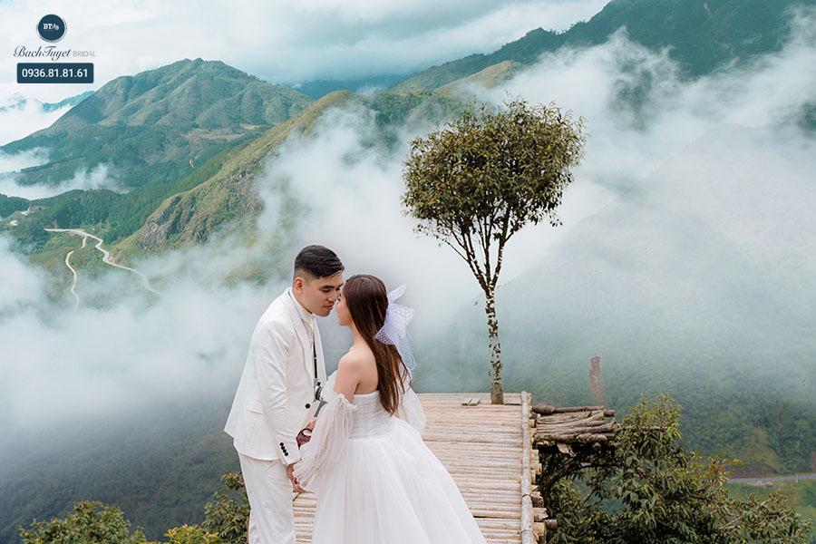Chụp ảnh cưới ở thung lũng Mường Hoa