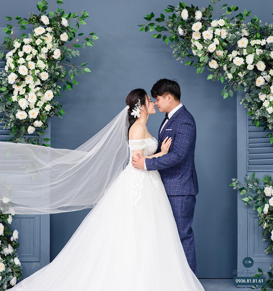 Trang phục chụp ảnh cưới kiểu hàn