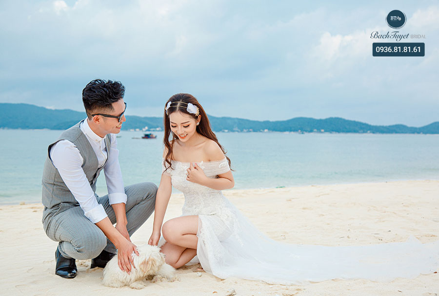 Trang phục chụp ảnh cưới tại Cô Tô