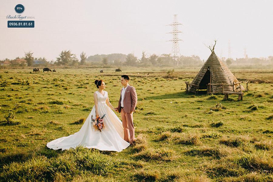 Lựa chọn địa điểm chụp ảnh cưới thích hợp