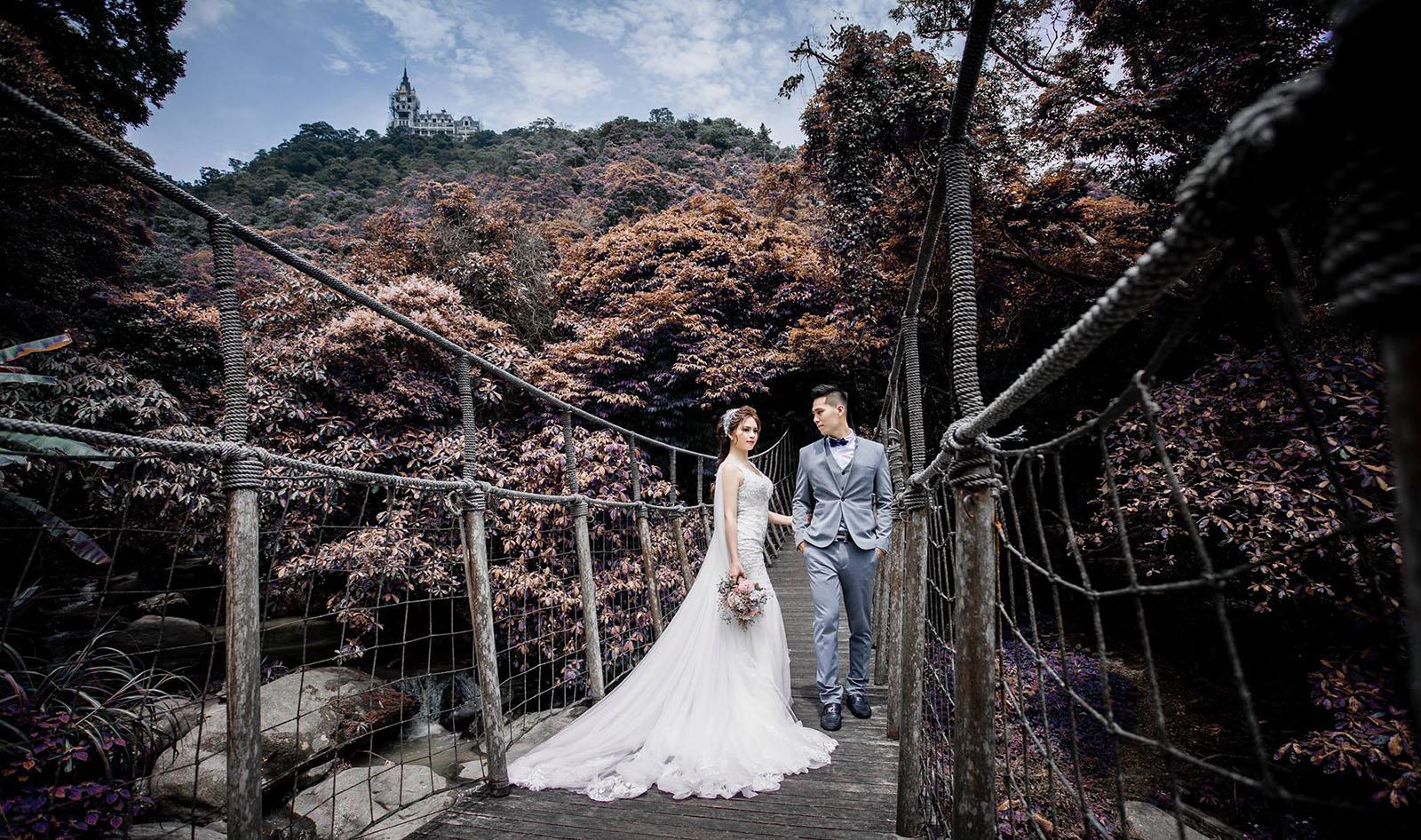Chụp ảnh cưới dã ngoại – Chụp ảnh cưới kết hợp du lịch, tại sao không?