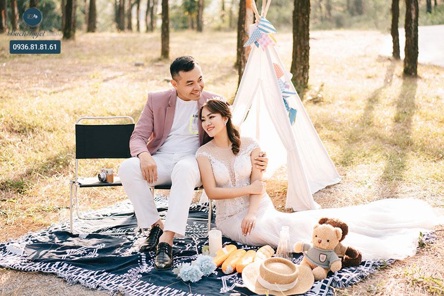 Studio chụp ảnh cưới dã ngoại đẹp