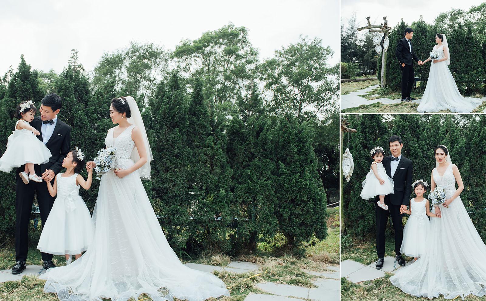 Chụp ảnh cưới gia đình siêu đẹp tại Bạch Tuyết Bridal: Món quà yêu thương thay lời muốn nói