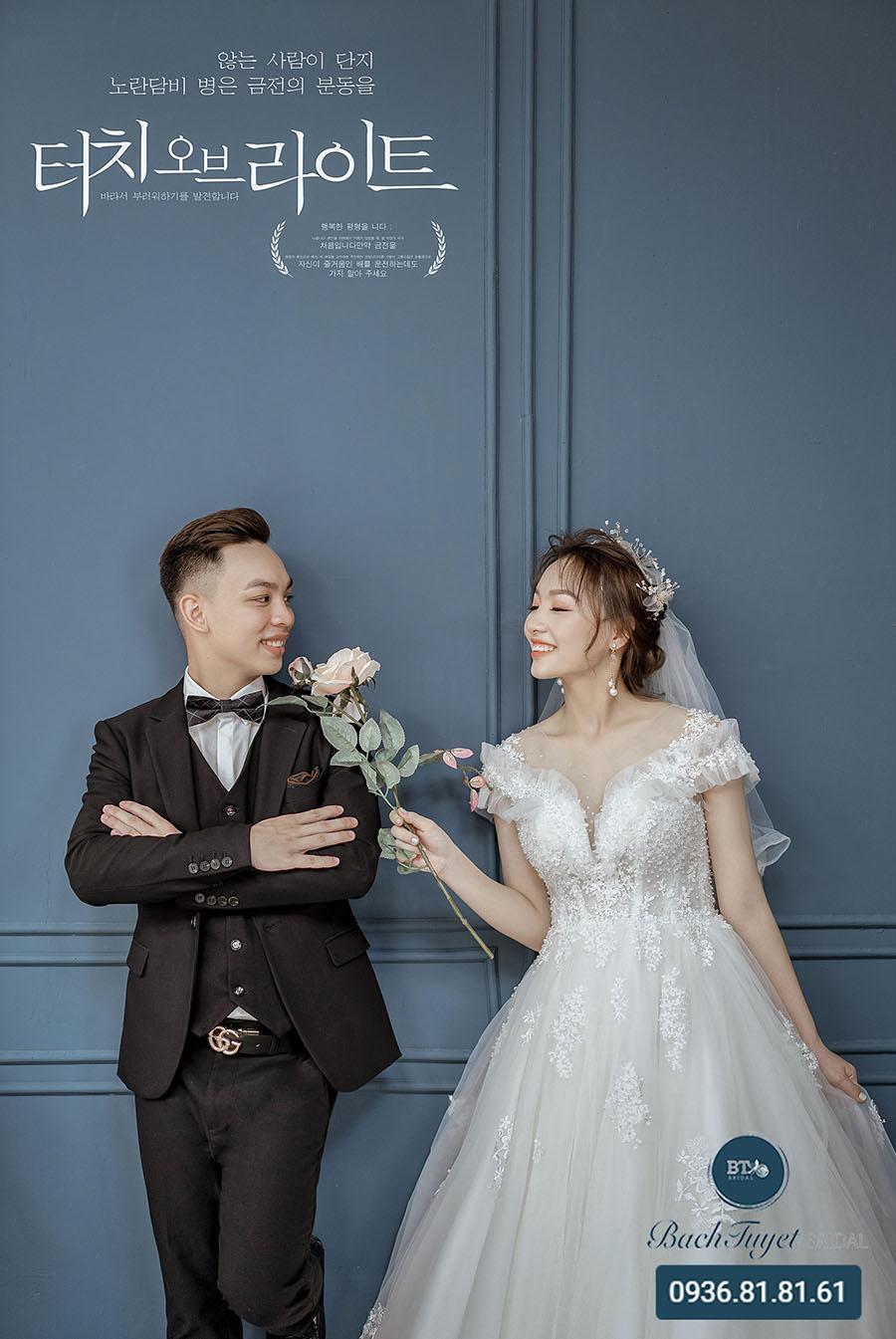 Chụp ảnh cưới hiện đại phong cách All in love