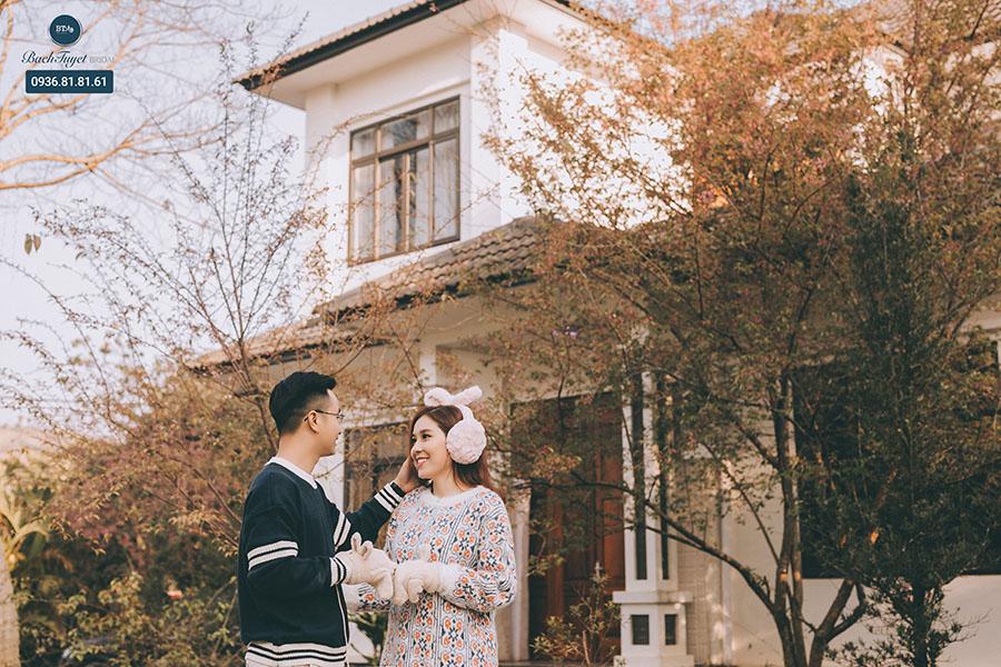 Phong cách chụp ảnh cưới đơn giản