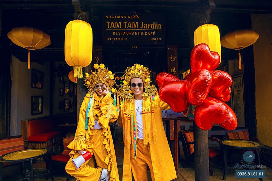Trang phục chụp ảnh cưới tại Đà Nẵng - Hội An