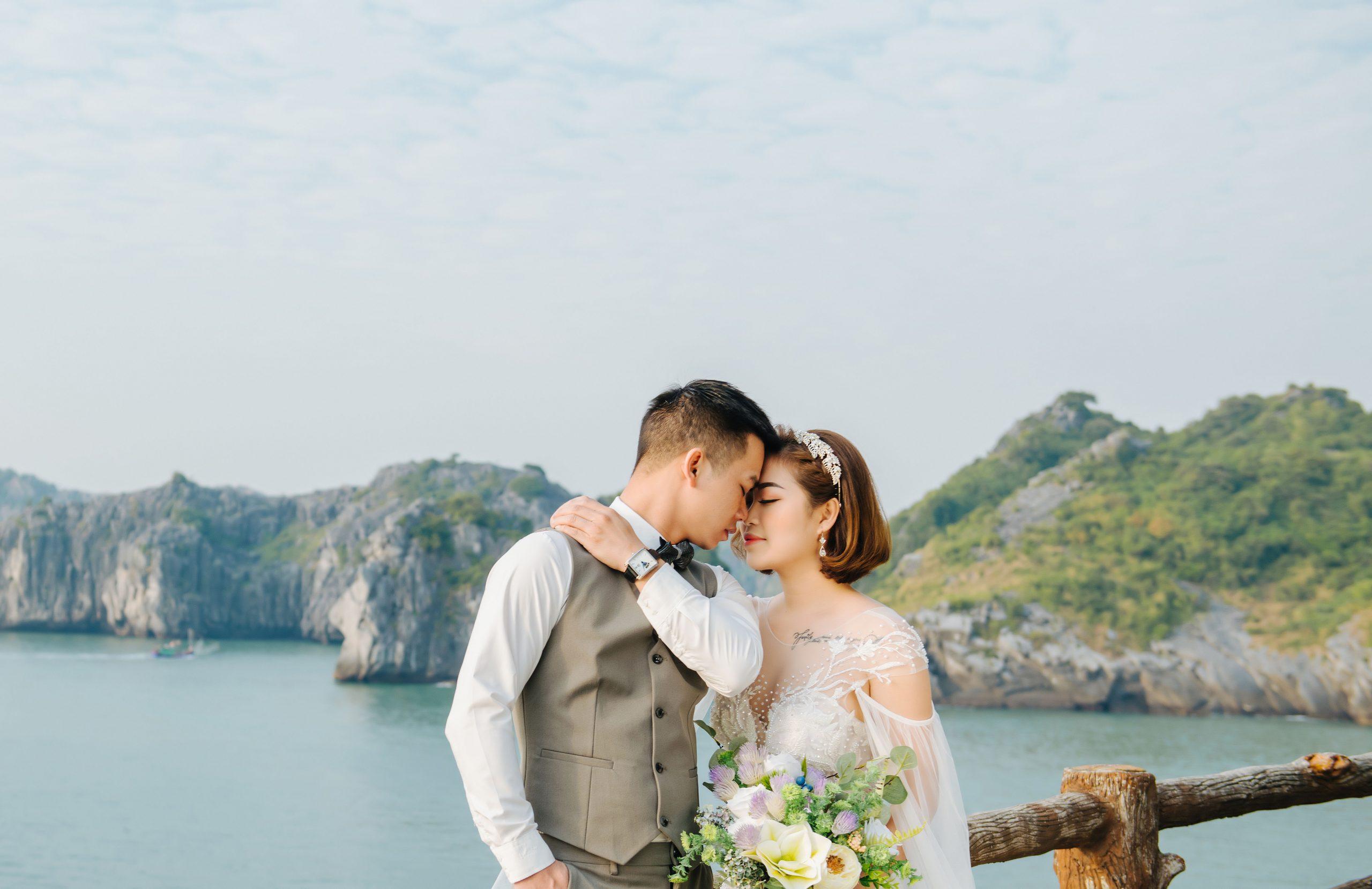 Chụp ảnh cưới ở Cát Bà – Thiên đường chụp ảnh cưới tại miền Bắc