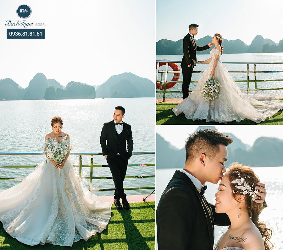 Chụp ảnh cưới ở đảo ngọc Cát Bà