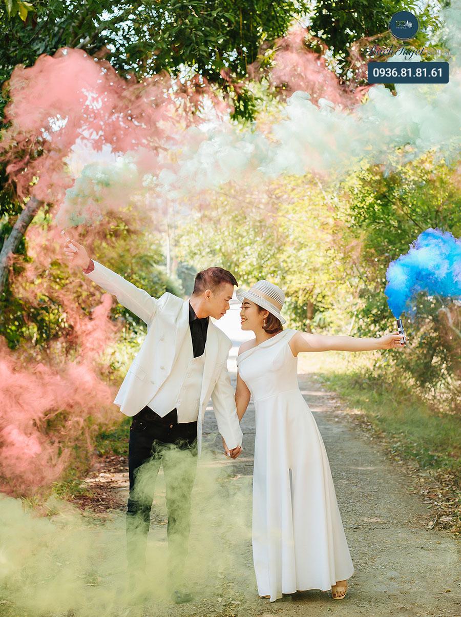 Chụp ảnh cưới ở vườn quốc gia Cát Bà