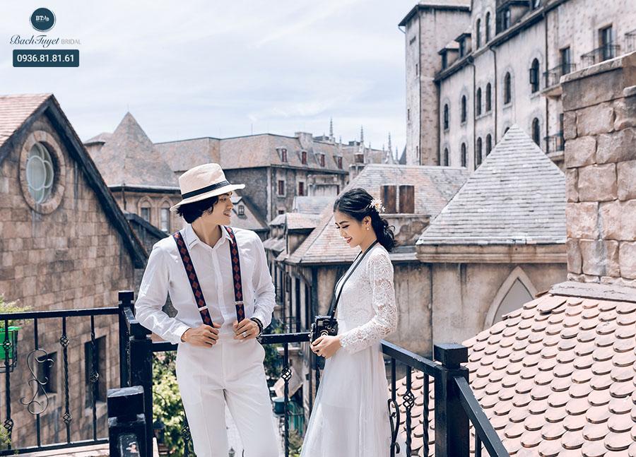Nên kết hợp chụp ảnh cưới và du lịch