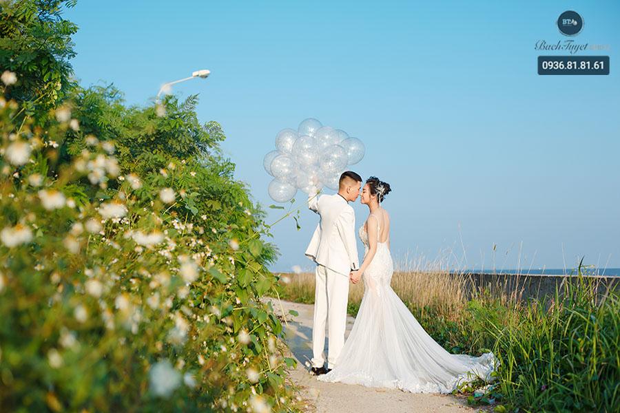 Ảnh cưới ở Đồ Sơn lúc bình minh