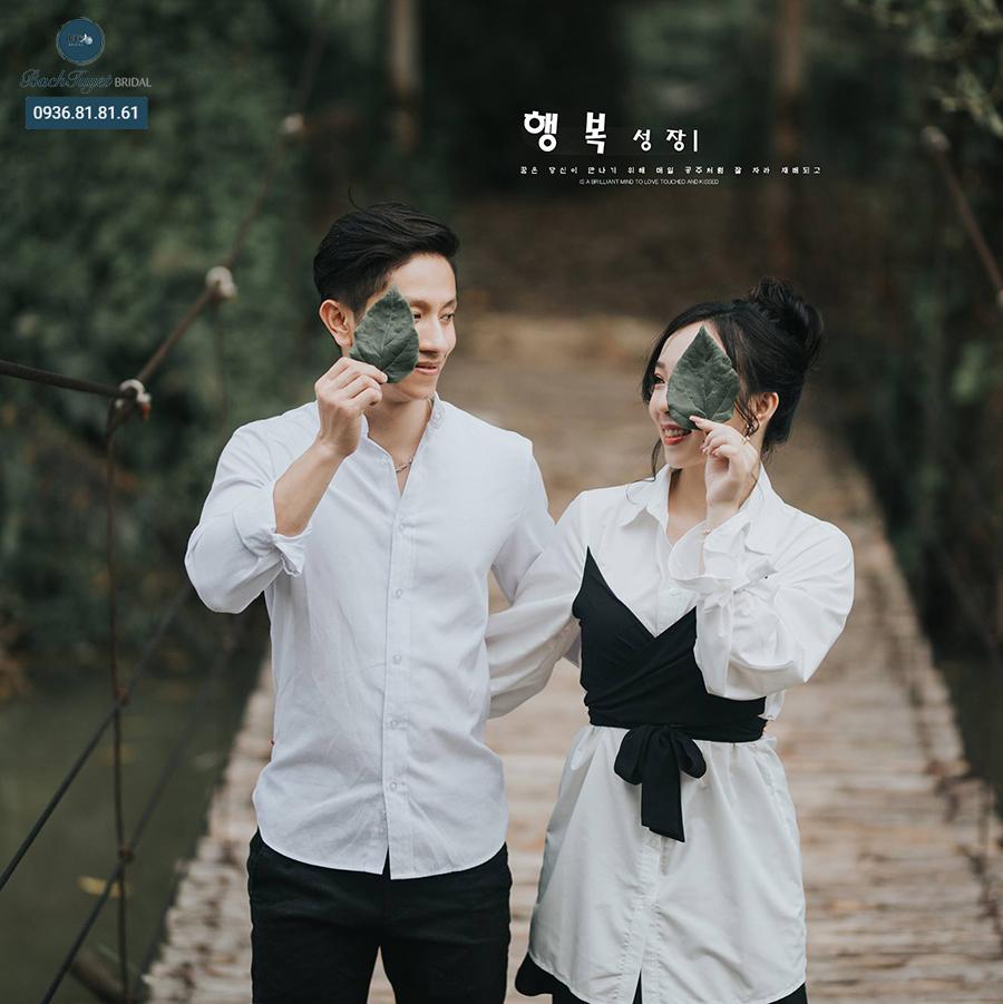 Chụp ảnh cưới ỏ phim trường Đồng Mộc Media
