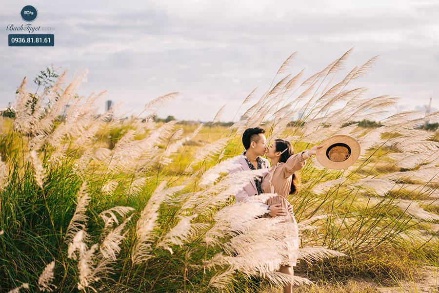 Chụp ảnh cưới phim trường Grassy