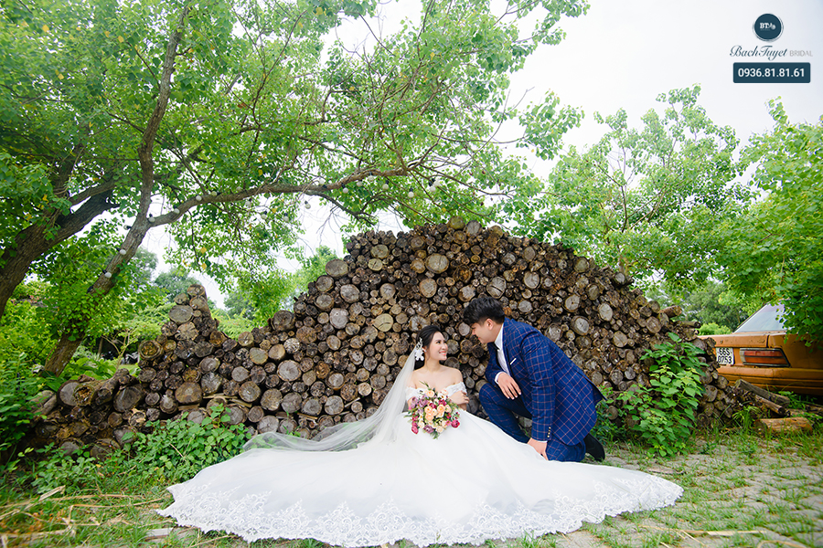 Chụp ảnh cưới ở phim trường sinh thái Wonderland