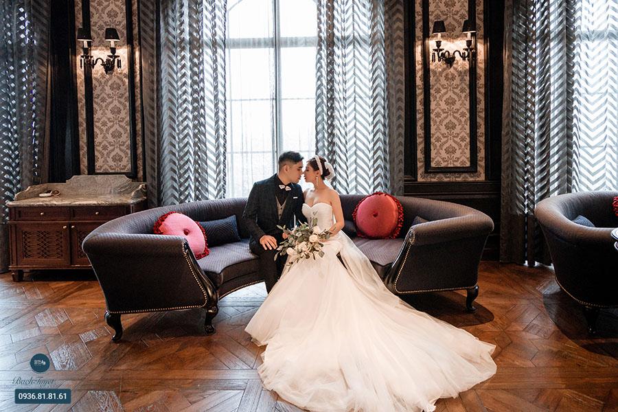 Chụp ảnh cưới phong cách châu Âu có gì đặc biệt