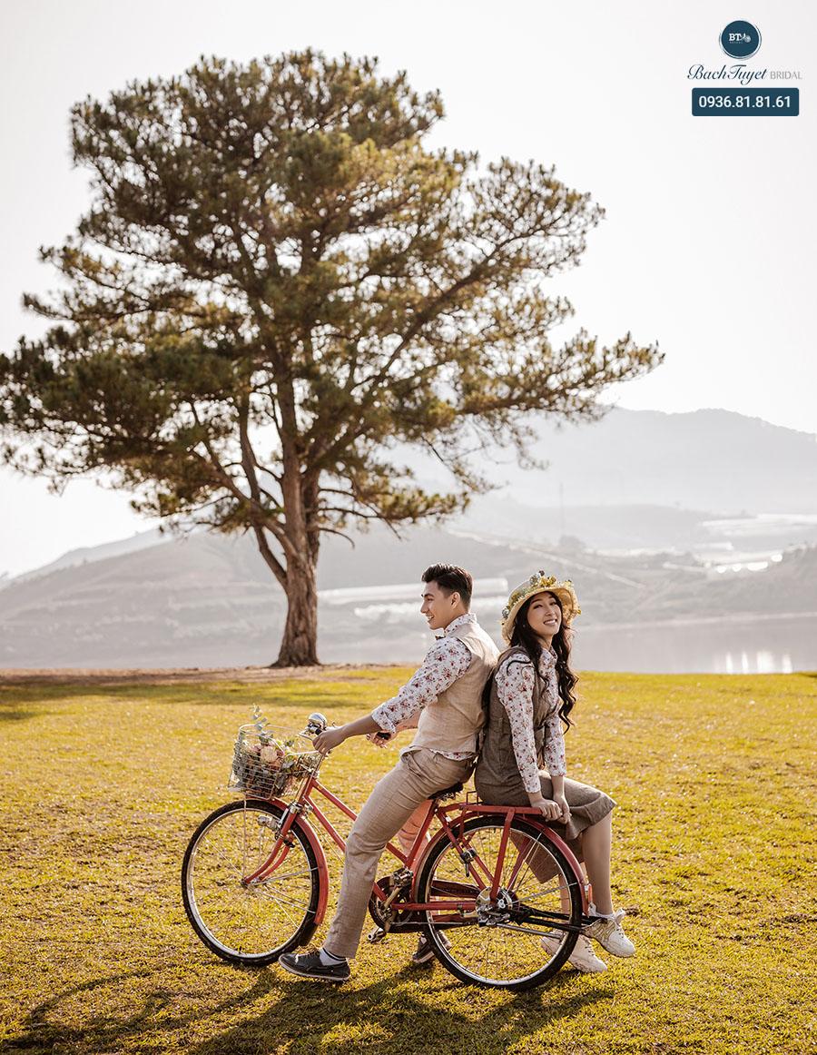 Du lịch chụp ảnh cưới ở Đà Lạt