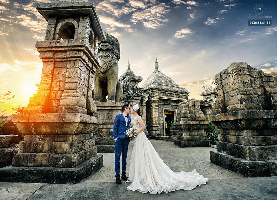 Trang điểm chụp ảnh cưới phong cách châu Âu