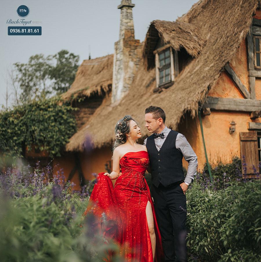 Trang phục chụp ảnh cưới phong cách châu Âu