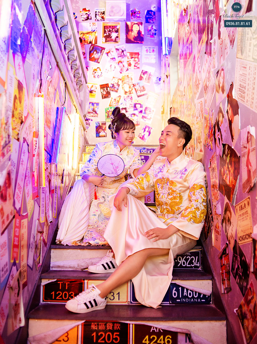 Ảnh cưới phong cách Hong Kong