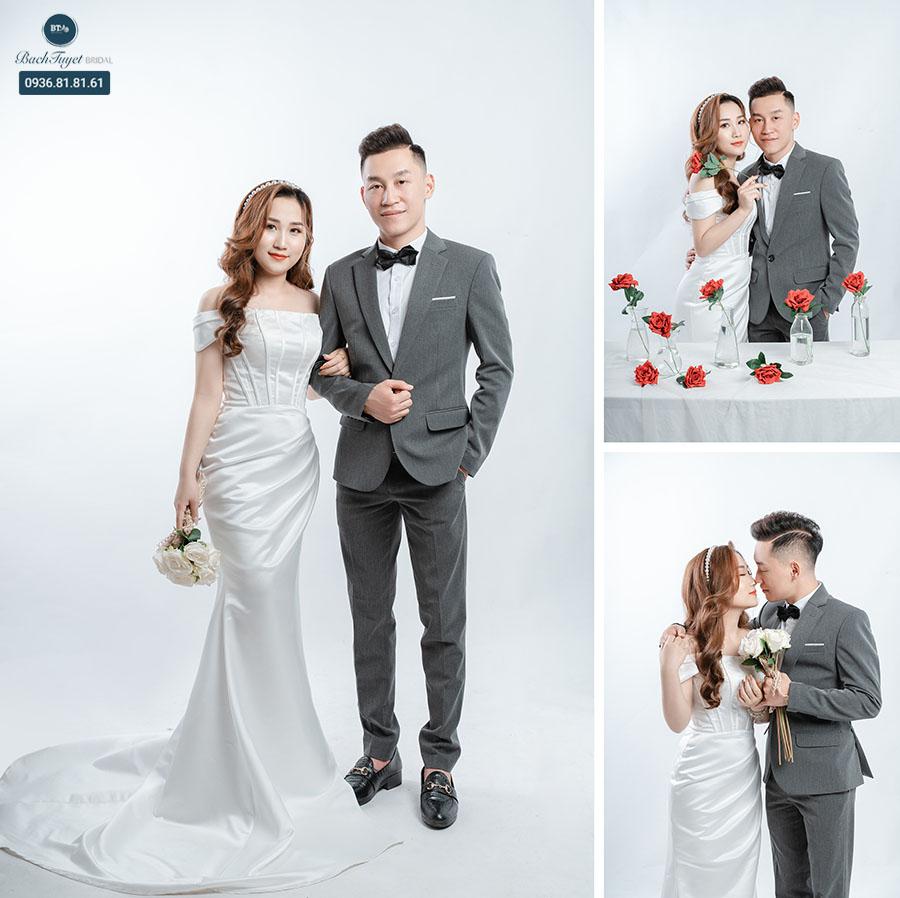 Chụp ảnh cưới vào dịp khuyến mãi