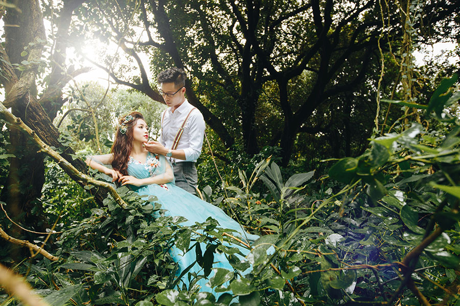 Chụp ảnh cưới nghệ thuật sáng tạo